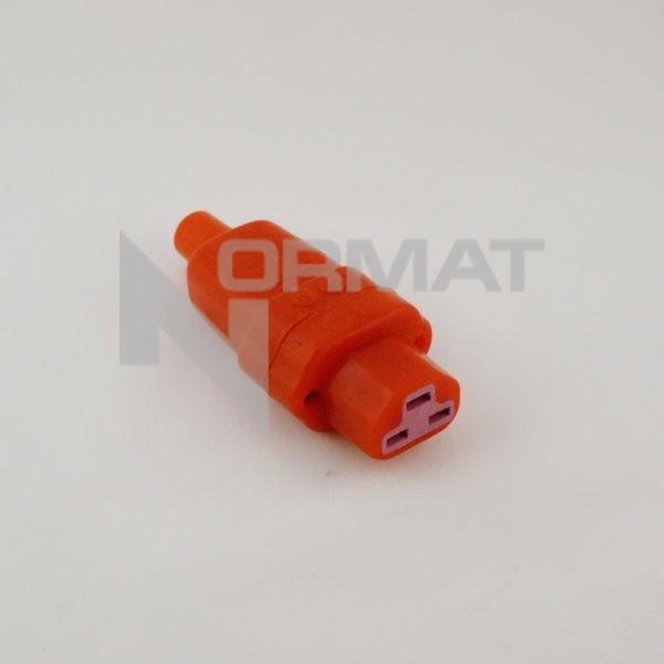3-х контактная силиконовая вилка 444 si