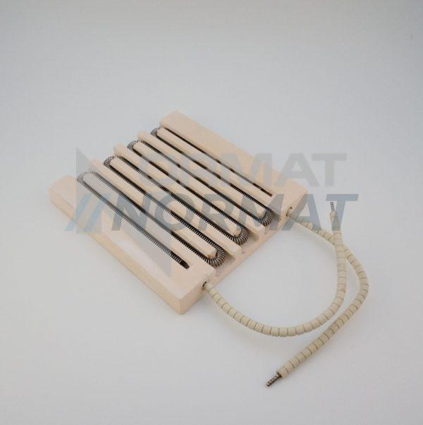 Канальные керамические нагреватели