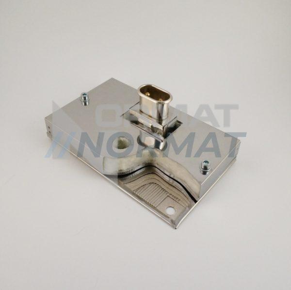 Миканитовые плоские П и Г-образные нагреватели с дополнительной теплоизоляцией