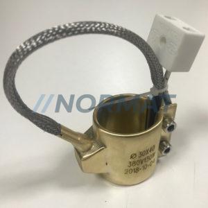 Сопловые латунные нагреватели 5 Вт/см<sup>2</sup>